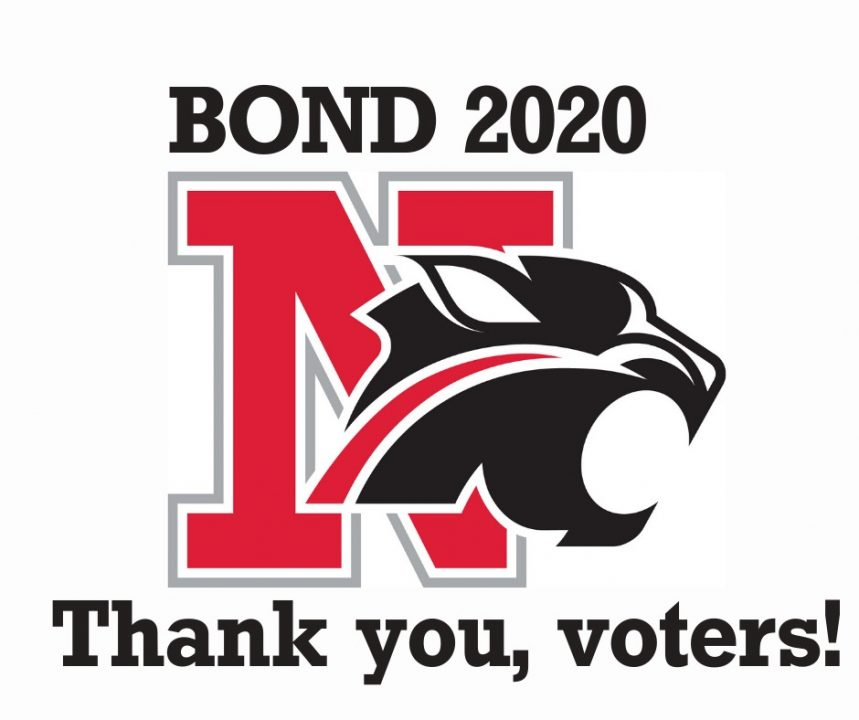 Bond 2020 - Thank you, voters!